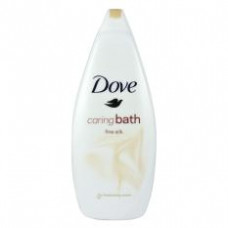 Sữa tắm Dove caring bath fine silk 750ml