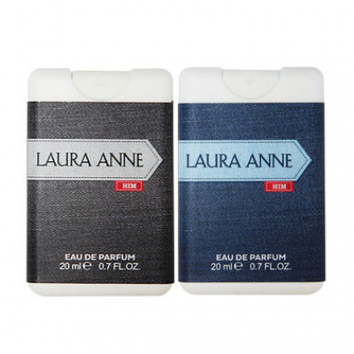 Combo Nước Hoa Laura Anne Black 20ml + Blue 20ml