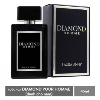 Nước Hoa Nam Laura Anne Diamond Homme 45ml